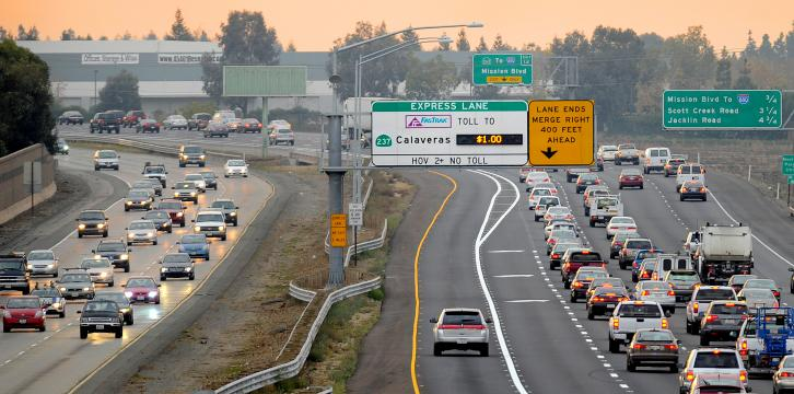 EXPRESS LANE EXAMPLE PICTURE
